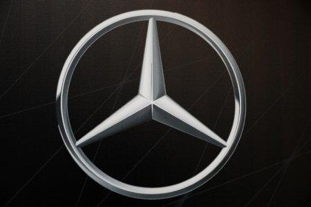 Mercedes Benz Cars is seen at the launch of the Mercedes Benz research and development centre in Tel Aviv Israel