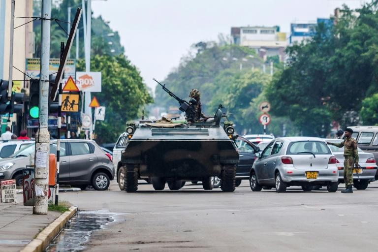 Foreign embassies in Zimbabwe have told their citizens to stay off the streets