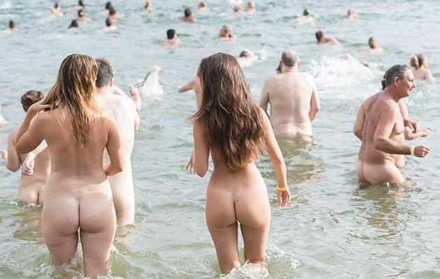 'Swimming nude is about being honest, fully alive and human,' says The Sydney Skinny site. Photo: Getty