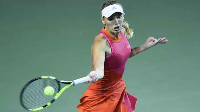 Caroline Wozniacki and Anastasia Pavlyuchenkova will meet in the Tokyo Open final after contrasting last-four wins.