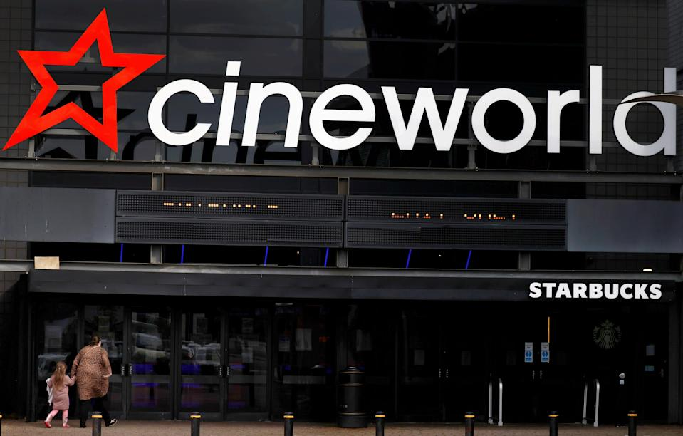 <p>Many of the group's 767 cinemas have been shut since last March </p> (REUTERS)