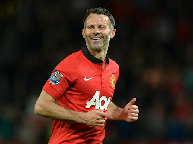 Manchester United legend Ryan Giggs: AFP via Getty Images