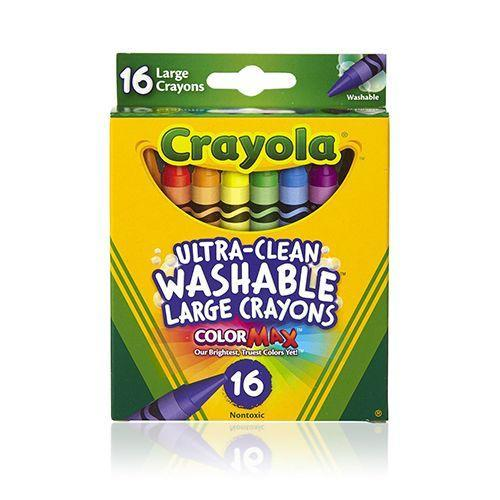 """<p><strong><em>Crayola Washable Crayons 2-pack, $5</em></strong> <a class=""""link rapid-noclick-resp"""" href=""""https://www.amazon.com/Crayola-Washable-Crayons-Large-Colors/dp/B00CGOIV0E?tag=syn-yahoo-20&ascsubtag=%5Bartid%7C10050.g.35033504%5Bsrc%7Cyahoo-us"""" rel=""""nofollow noopener"""" target=""""_blank"""" data-ylk=""""slk:BUY NOW"""">BUY NOW</a></p><p>Believe it or not, <a href=""""https://www.bestproducts.com/parenting/kids/g1991/crayola-products-for-kids/"""" rel=""""nofollow noopener"""" target=""""_blank"""" data-ylk=""""slk:Crayola has been around since 1885"""" class=""""link rapid-noclick-resp"""">Crayola has been around since 1885</a>. While crayons have experienced various reinventions over the years, the main function has stayed the same. They're fun, and they're colorful — what's not to love?</p>"""
