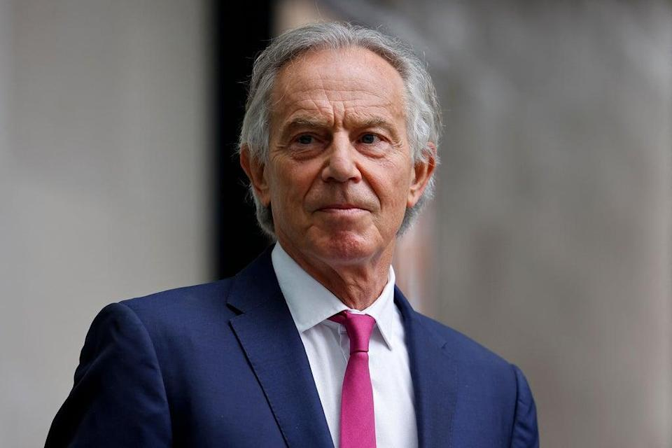 Tony Blair, 'a colossus who understood the art of government'  (AFP via Getty)