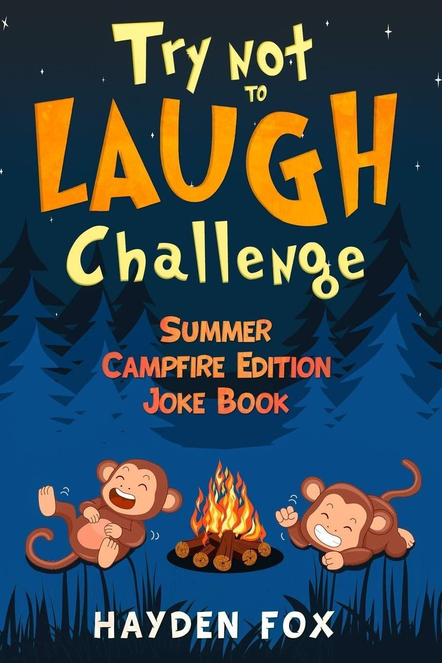 """<p>This <a href=""""https://www.popsugar.com/buy/bTry-Laugh-Challenge-Summer-Campfire-Edition-Joke-Bookb-575742?p_name=%3Cb%3ETry%20Not%20to%20Laugh%20Challenge%3A%20Summer%20Campfire%20Edition%20Joke%20Book%3C%2Fb%3E&retailer=amazon.com&pid=575742&evar1=moms%3Aus&evar9=47479532&evar98=https%3A%2F%2Fwww.popsugar.com%2Fphoto-gallery%2F47479532%2Fimage%2F47479555%2FCampfire-Joke-Book&list1=camping%2Ckid%20activities%2Ckid%20shopping%2Cparent%20shopping%2Cstaying%20home&prop13=api&pdata=1"""" class=""""link rapid-noclick-resp"""" rel=""""nofollow noopener"""" target=""""_blank"""" data-ylk=""""slk:Try Not to Laugh Challenge: Summer Campfire Edition Joke Book""""><b>Try Not to Laugh Challenge: Summer Campfire Edition Joke Book</b></a> ($9) from the Try Not to Laugh Challenge series of books is packed with kid-friendly jokes, riddles, and puns that'll have the whole family laughing in their sleeping bags. If your kids are more into scares than laughs, give this collection of <a href=""""https://www.popsugar.com/buy?url=https%3A%2F%2Fwww.amazon.com%2Fdp%2F1070876372%2Fref%3Dcm_sw_r_tw_dp_U_x_I-xWEbAS5EGD5&p_name=family-friendly%20campfire%20stories&retailer=amazon.com&evar1=moms%3Aus&evar9=47479532&evar98=https%3A%2F%2Fwww.popsugar.com%2Fphoto-gallery%2F47479532%2Fimage%2F47479555%2FCampfire-Joke-Book&list1=camping%2Ckid%20activities%2Ckid%20shopping%2Cparent%20shopping%2Cstaying%20home&prop13=api&pdata=1"""" class=""""link rapid-noclick-resp"""" rel=""""nofollow noopener"""" target=""""_blank"""" data-ylk=""""slk:family-friendly campfire stories"""">family-friendly campfire stories</a> a try.</p>"""