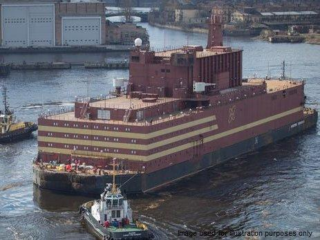 World's only floating nuclear power station dubbed 'Chernobyl on ice' launched by Russia