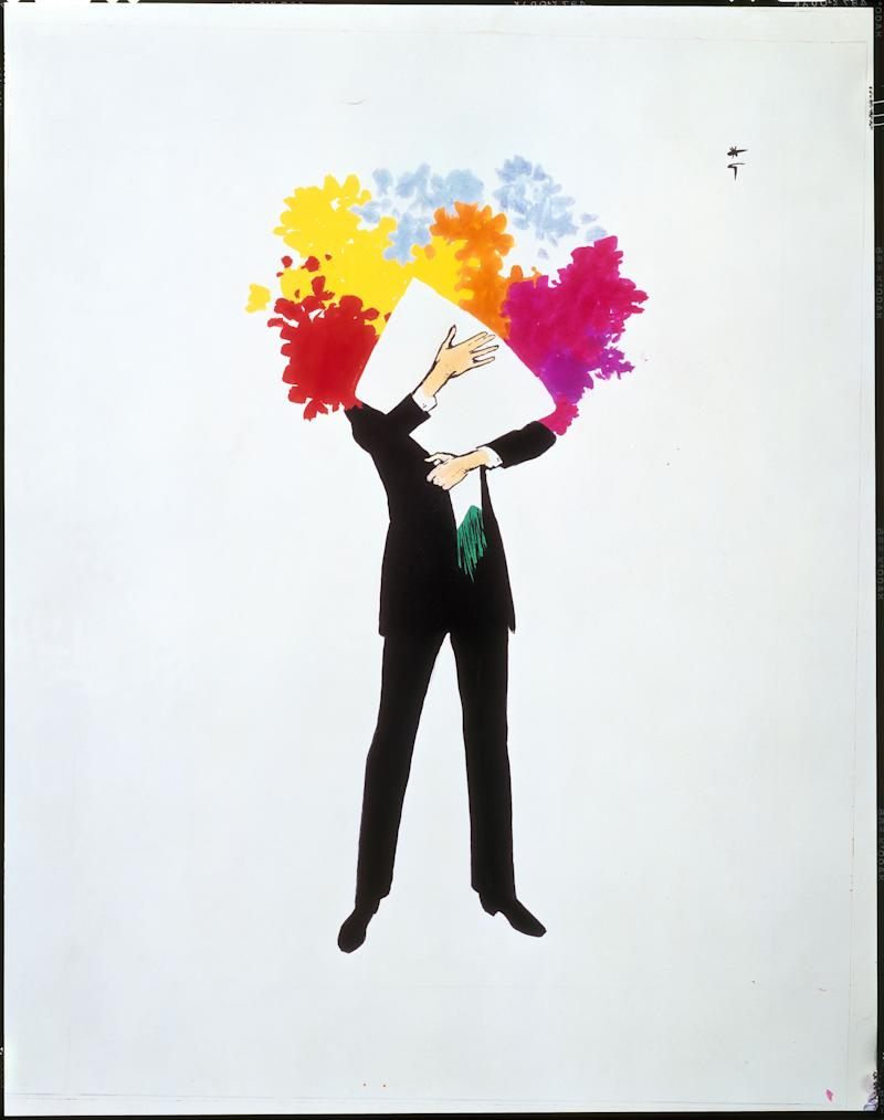 Miss Dior illustration, 1971. (Bild: SARL René Gruau für Christian Dior Parfums)
