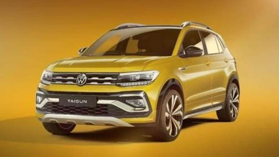 Ahead of its launch in India, Volkswagen teases Taigun SUV