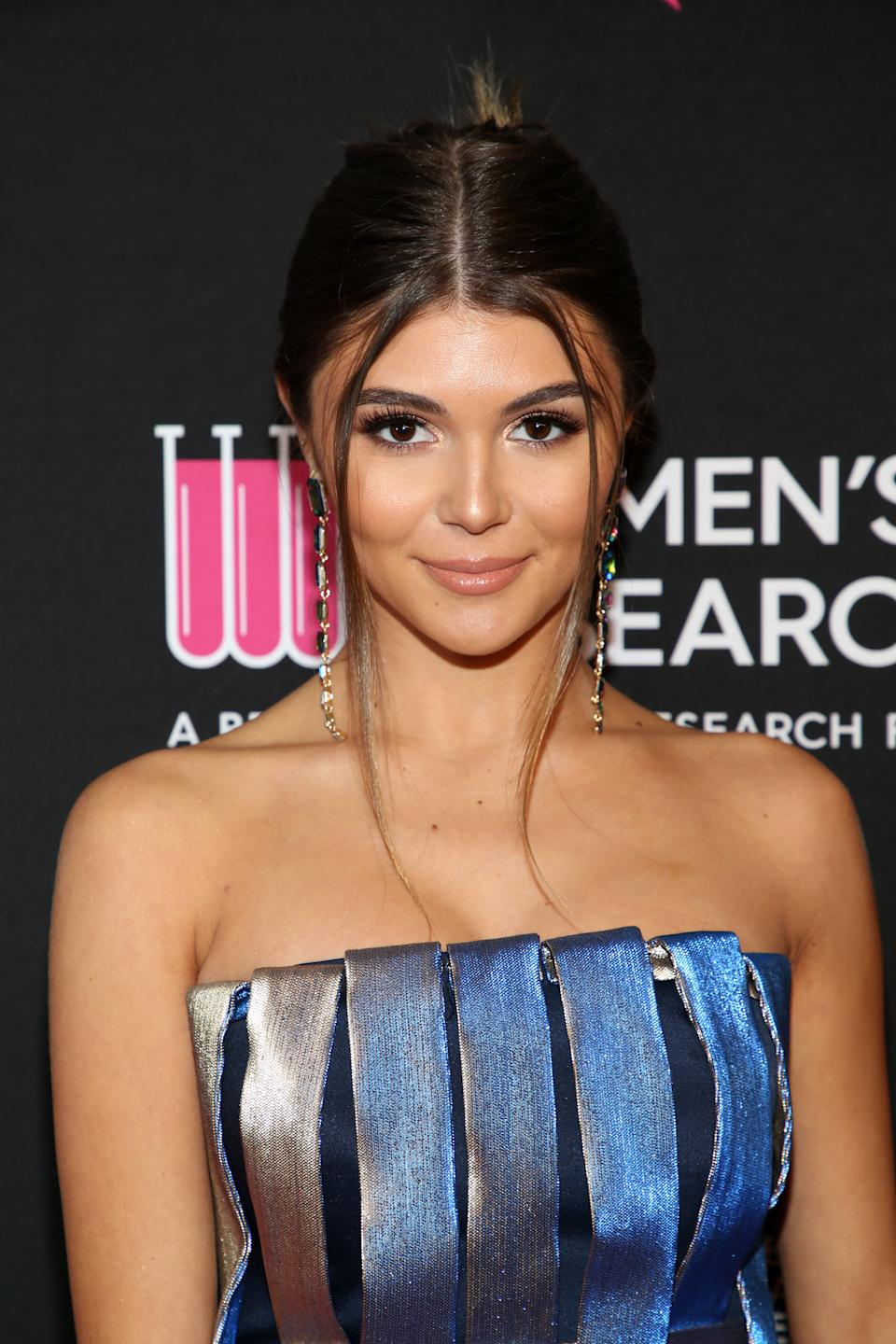 Olivia Jade Giannulli returns to YouTube after college admissions scandal. (Photo: Getty Images)