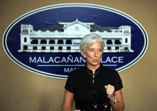 Christine Lagarde, International Monetary Fund managing director