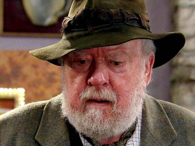 <strong>Freddie Jones (1927-2019)</strong><br />Freddie was most recently known for playing Sandy Thomas in Emmerdale from 2005 until 2018.