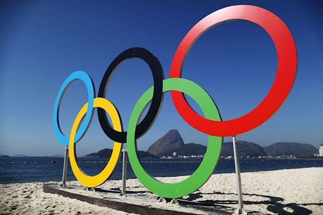 The rings at Rio. (Getty)