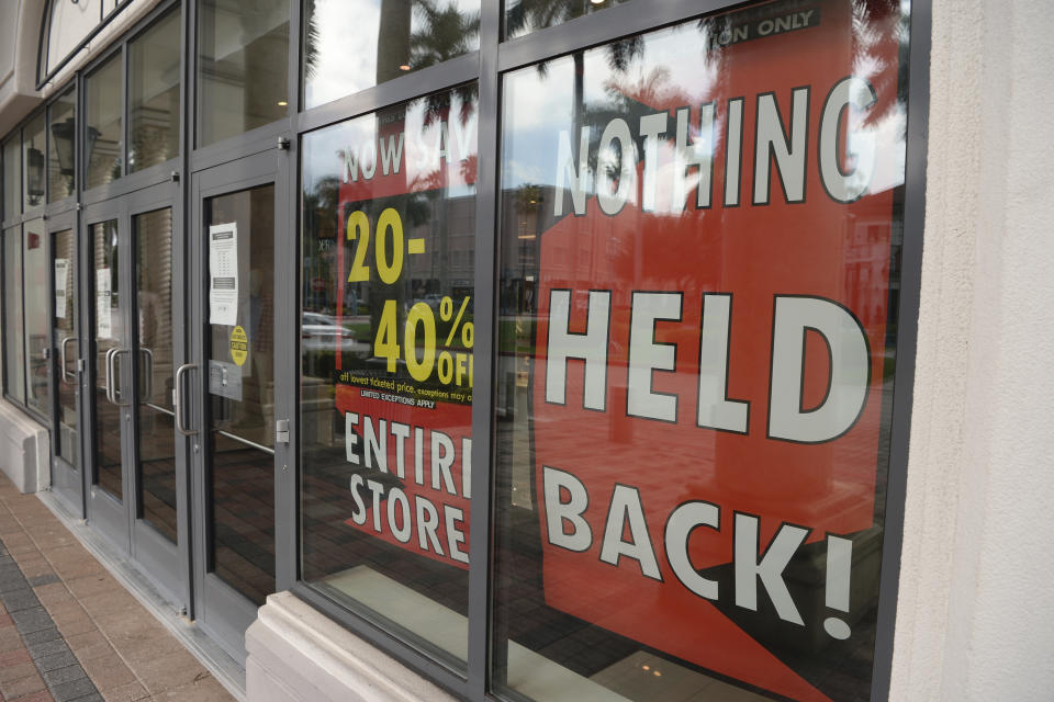BOCA RATON, FL - AUGUST 06: A general view of Lord & Taylor in Mizner Park, one of the nation's oldest department store chains, has started liquidating 19 of its 38 stores. The retailer filed for Chapter 11 bankruptcy protection Sunday, joining the growing list of retailers who say they were impacted by temporary store closures amid the coronavirus pandemic, as Florida's Covid-19 surgeon August 6, 2020 in Boca Raton, Florida. Credit: mpi04/MediaPunch /IPX