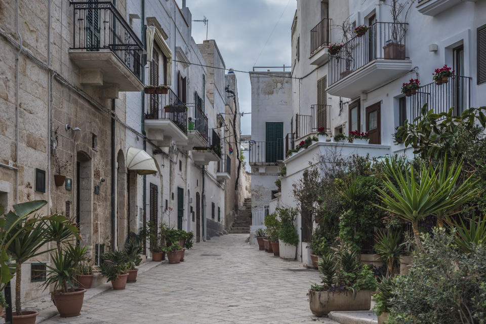 According to the travel hub, Italy's Achilles is enjoying a 'renaissance that's been a decade in the making' and that's precisely why you need to visit Bari. The old town is postcard-worthy with family-run restaurants and local artists back in action. <em>[Photo: Getty]</em>