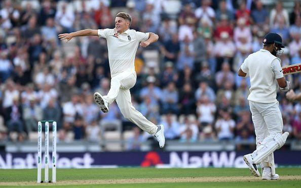 Sam Curran delighted with the wicket of Indian skipper