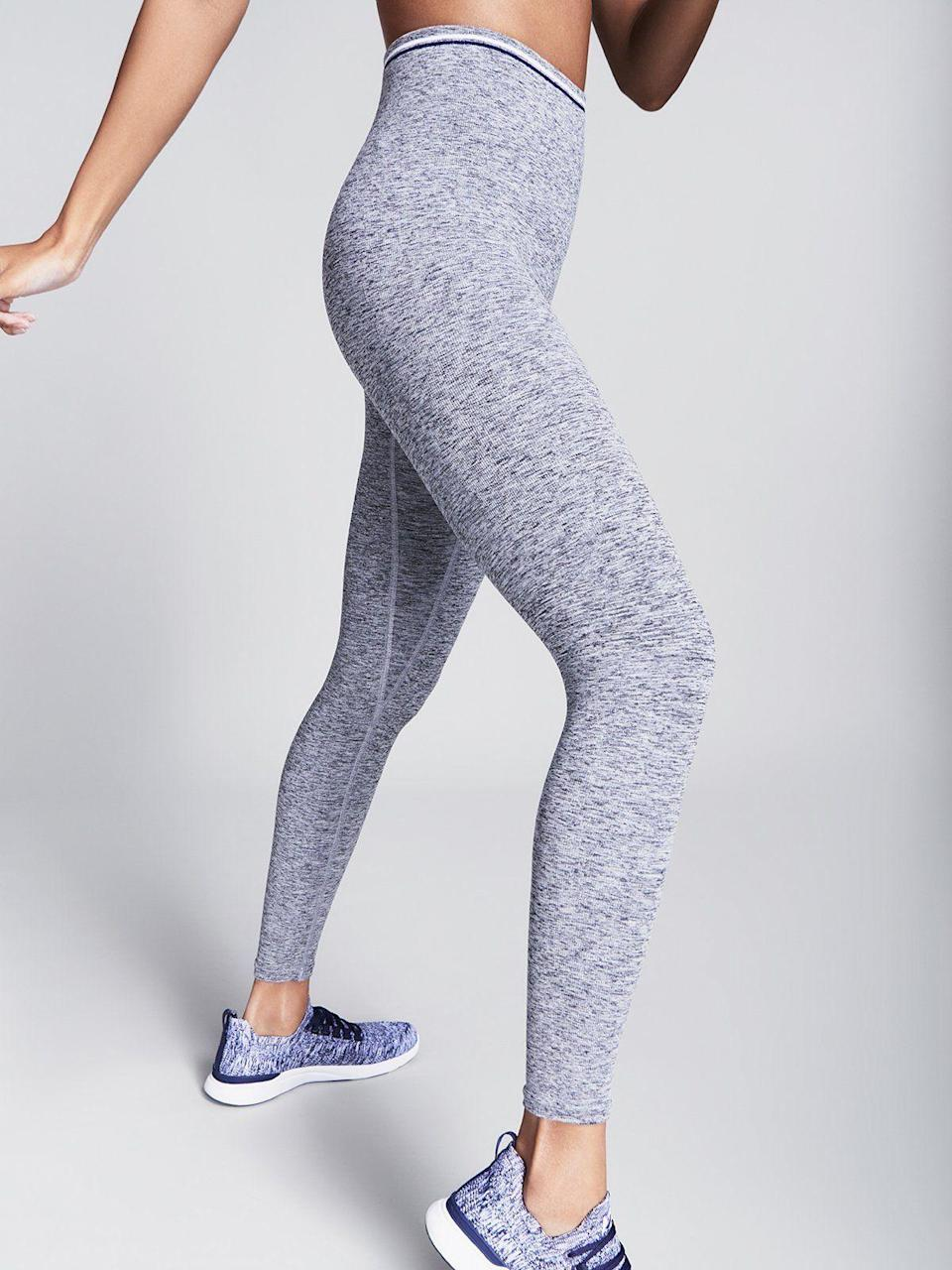 """<p><strong>LNDR</strong></p><p>lndr.us</p><p><strong>$118.00</strong></p><p><a href=""""https://www.lndr.us/collections/new-arrivals/products/blackout-stripe-legging-greymarl"""" rel=""""nofollow noopener"""" target=""""_blank"""" data-ylk=""""slk:Shop Now"""" class=""""link rapid-noclick-resp"""">Shop Now</a></p><p>Whether you're looking for leggings at every length, track pants, outerwear, or the perfect sports bra, this U.K.-based brand has it all—and it's all done in the clean, minimal designs. </p>"""