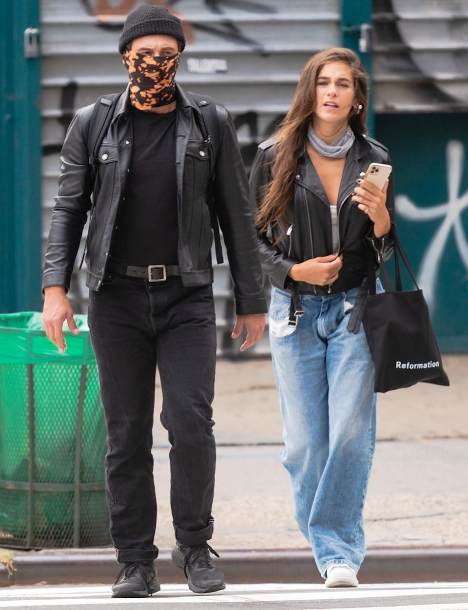 <p>James Franco and Isabel Pakzad head out to enjoy a spa day on Saturday in N.Y.C.</p>