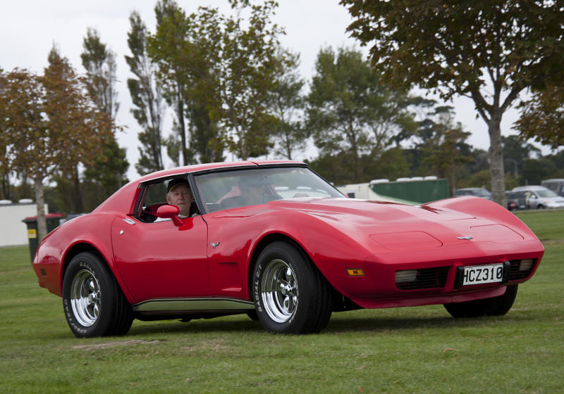 """Mark Wahlberg's character Dirk Diggler drove this kind of Corvette in """"Boogie Nights."""" (Photo: Getty Images)"""