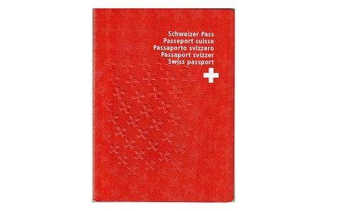 The Swiss passport