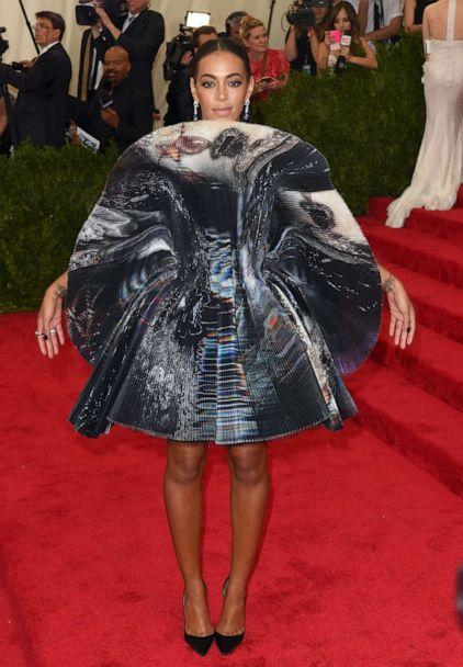 PHOTO: Solange Knowles attends the 'China: Through The Looking Glass' Costume Institute Benefit Gala at Metropolitan Museum of Art on May 4, 2015 in New York. (Karwai Tang/WireImage/Getty Images, FILE)