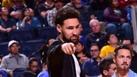 Klay Thompson cleared