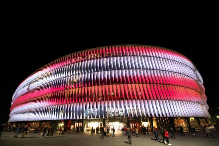 Bilbao's San Mames stadium (pictured) was dropped as a Euro 2020 host venue by UEFA along with Dublin