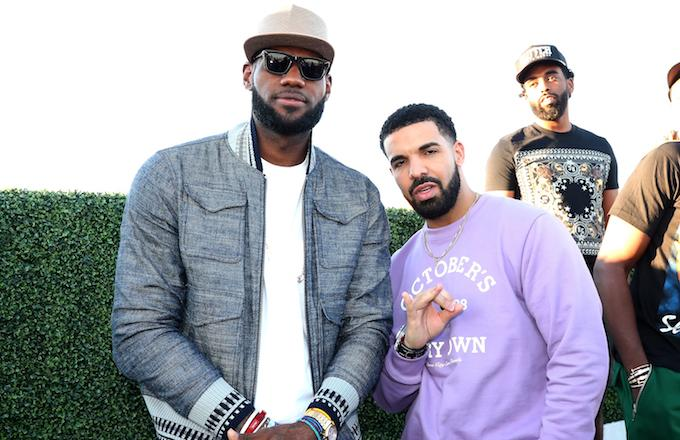 8f9668c15032 Drake Brings Out LeBron James and Travis Scott to Perform