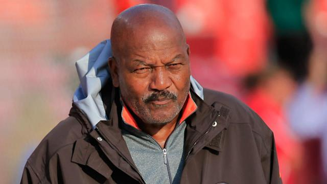 Pro Football Hall of Famer Jim Brown gave perspective — and even optimism — on Donald Trump's forthcoming presidency.