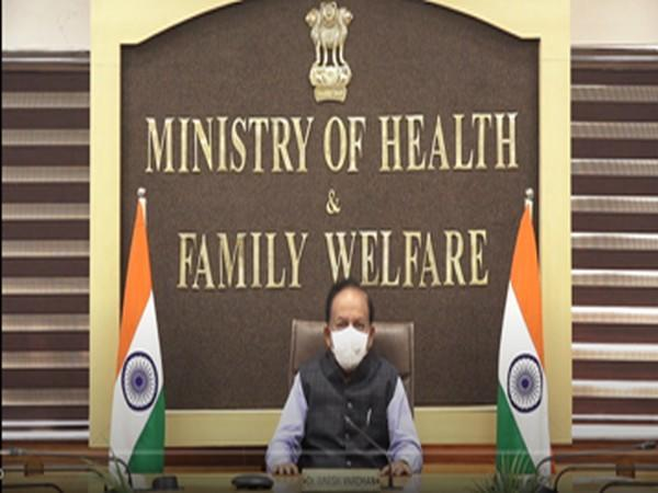Union Health Minister Dr Harsh Vardhan on Friday addresses Platinum Jubilee of NATCON. (Image Courtesy: Union Health Ministry)