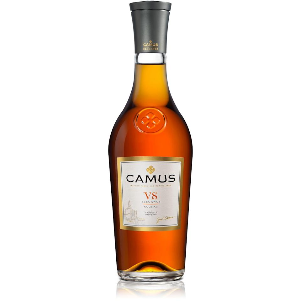 "<p><strong>Camus</strong></p><p>wine.com</p><p><strong>$30.99</strong></p><p><a href=""https://go.redirectingat.com?id=74968X1596630&url=https%3A%2F%2Fwww.wine.com%2Fproduct%2Fcamus-elegance-vs-cognac%2F528750&sref=https%3A%2F%2Fwww.delish.com%2Fkitchen-tools%2Fcookware-reviews%2Fg33322195%2Fbest-cognac-brands%2F"" rel=""nofollow noopener"" target=""_blank"" data-ylk=""slk:BUY NOW"" class=""link rapid-noclick-resp"">BUY NOW</a></p><p>In this case, V.S. stands for Very Special. That means it's been aged for the mandatory minimum of two years. You'll find your least expensive cognacs under this descriptor, but brands like Camus still have a subtle, refined flavor. </p>"