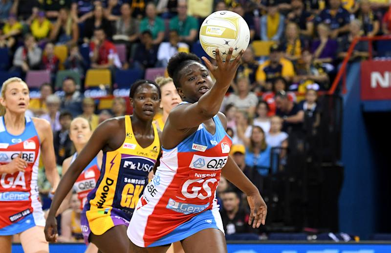 Sam Wallace, pictured here in action during the 2019 Super Netball Grand Final.