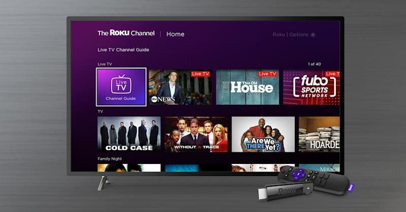 Roku is adding more content to its The Roku Channel with more streaming options. (Image: Roku)