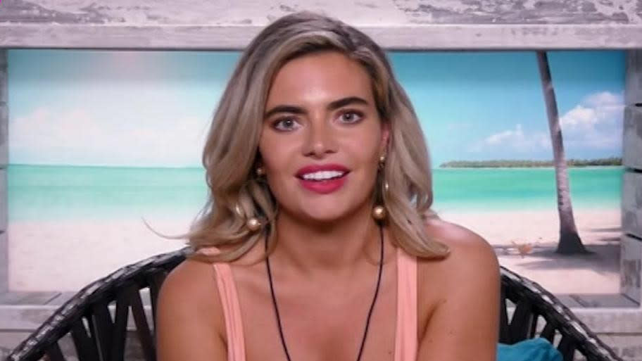 Megan Barton-Hanson appeared on the 2018 series of 'Love Island'. (Credit: ITV)