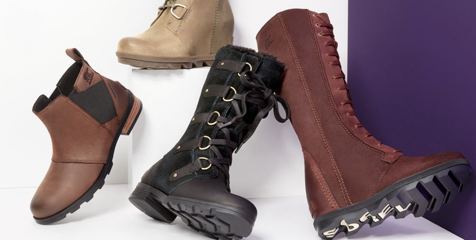 Sorel boots and booties sale at Nordstrom. (Photo: Nordstrom Rack)