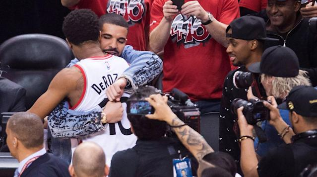 Toronto native and Raptors team ambassador Drake posted a heartfelt goodbye message to DeMar DeRozan on Instagram Wednesday afternoon. The post came just hours after Toronto traded their four-time NBA All-Star to San Antonio for Kawhi Leonard.
