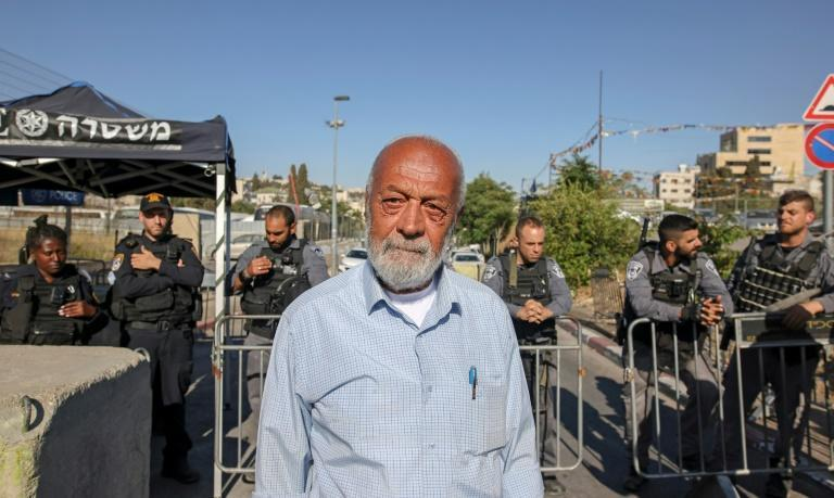 Mohammad Sabbagh is one of thousands of Palestinians facing expulsion from homes in east Jerusalem
