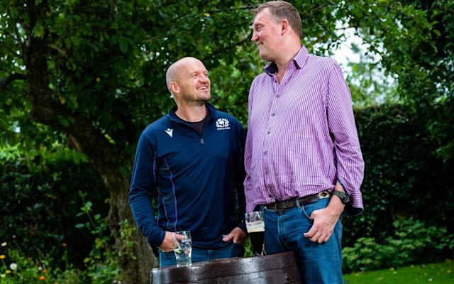 Gregor Townsend (left) has known Doddie Weir (right) since their playing days forGala and Melrose - STUART NICOL PHOTOGRAPHY