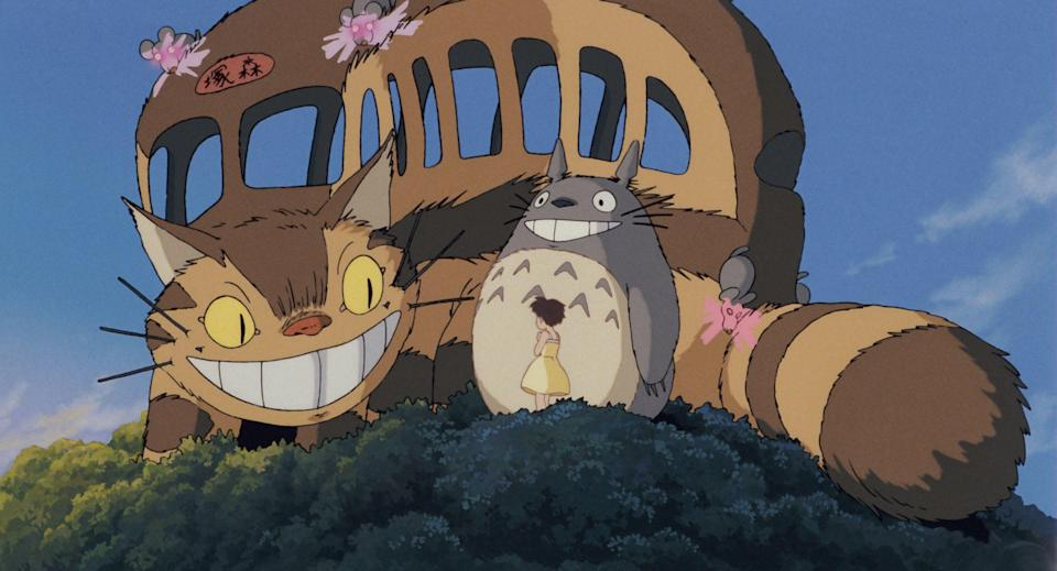 My Neighbour Totoro – The Catbus that can move swiftly through the forest.