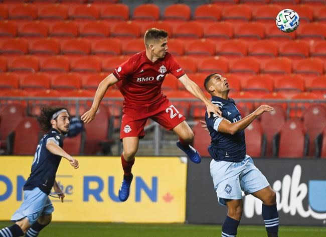 Laryea lifts Toronto FC to 1-0 win over Whitecaps and extend TFC's streak to 17