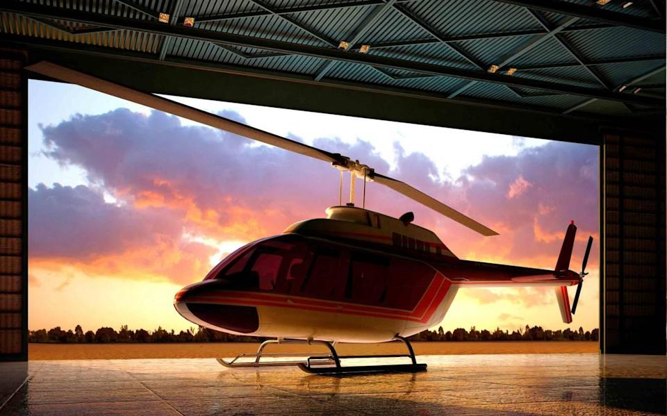 A 45-minute helicopter tour of Singapore from Seletar Airport.