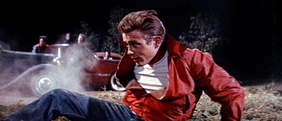 """<a href=""""http://movies.yahoo.com/movie/rebel-without-a-cause/"""" data-ylk=""""slk:REBEL WITHOUT A CAUSE"""" class=""""link rapid-noclick-resp"""">REBEL WITHOUT A CAUSE</a> (1955) <br>Directed by: <span>Nicholas Ray</span> <br>Starring: <span>James Dean</span>,<span>Natalie Wood</span> and <span>Sal Mineo</span>"""