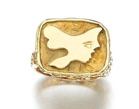 'Iophassa' ring by George Braque for Heber de Lowenfeld, 1960s