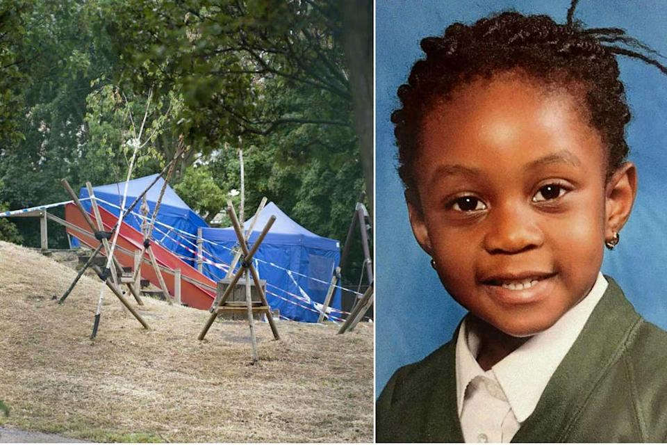 <p>Alexia died when a rotting playground swing collapsed on her in Mile End park in Tower Hamlets.</p> (Alex Lentati/ Supplied)