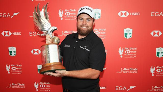 Richard Sterne played his part in a thrilling conclusion to the Abu Dhabi HSBC Championship, but lost out to Shane Lowry.