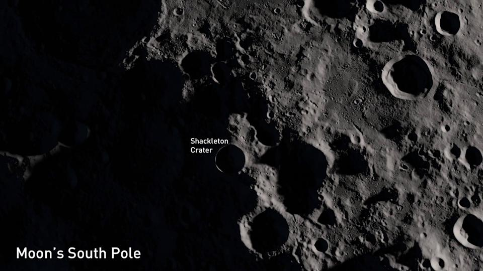 Moon-South-Pole-Shackleton-Crater-NASA