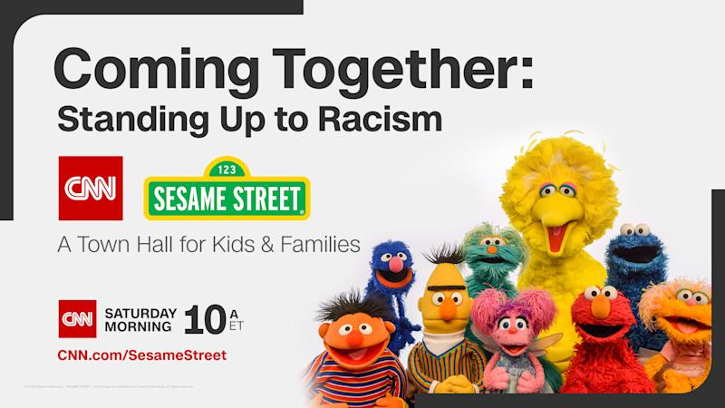 CNN and Sesame Street will host a June 6 town hall to discuss racism with kids and families. (Photo: Courtesy of CNN)