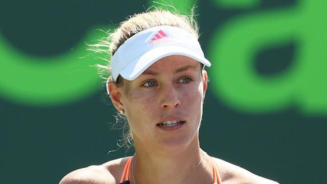 After a somewhat disappointing start to 2017 for Angelique Kerber, the world number one is in contention for her first title of the year.