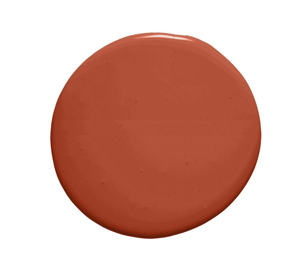 "<p>""If cozy terra-cotta is the move, I adore Farrow & Ball's <a href=""https://www.farrow-ball.com/en-us/archived-paint/terre-d-egypte"" rel=""nofollow noopener"" target=""_blank"" data-ylk=""slk:Terre D'Egypte"" class=""link rapid-noclick-resp"">Terre D'Egypte</a>. It is perfect in full gloss on a powder room ceiling. "" —Kelsey Dobyns of <a href=""https://katieleede.com/katieleede-studio/company/"" rel=""nofollow noopener"" target=""_blank"" data-ylk=""slk:Katie Leede and Company"" class=""link rapid-noclick-resp"">Katie Leede and Company<br><br></a><a class=""link rapid-noclick-resp"" href=""https://go.redirectingat.com?id=74968X1596630&url=https%3A%2F%2Fwww.farrow-ball.com%2Fen-us%2Farchived-paint%2Fterre-d-egypte&sref=https%3A%2F%2Fwww.veranda.com%2Fdecorating-ideas%2Fcolor-ideas%2Fg34647669%2Fred-paint-colors%2F"" rel=""nofollow noopener"" target=""_blank"" data-ylk=""slk:Get the Shade"">Get the Shade</a></p>"
