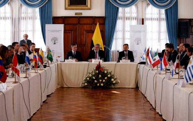 Ministers from more than a dozen Latin American nations held a two-day meeting on how to end the massive Venezuelan migrant crisis