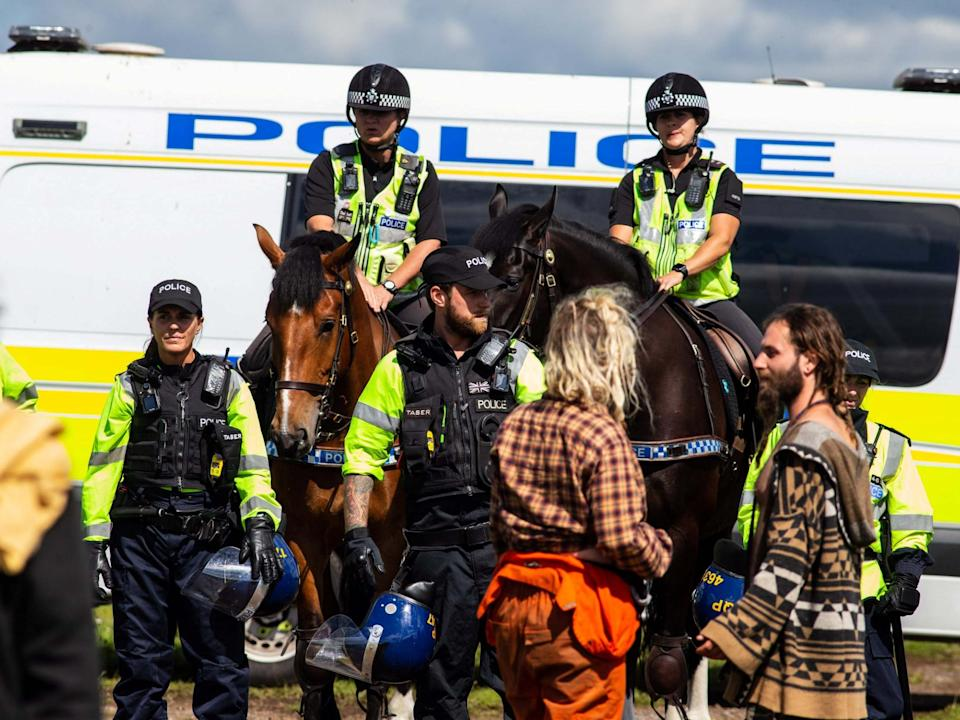 Police have stepped up patrols targeting illegal gatherings in recent weeks: Tom Wren/SWNS